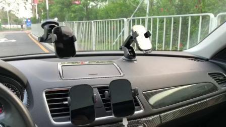 شاحن سيارة لاسلكي مماثل من طراز Xiaomi مع شاحن سريع بقدرة 15 واط / حامل الهاتف الثابت لمستشعر الأشعة تحت الحمراء