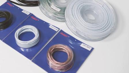 PVC-geïsoleerde draad met 4 kernen en 28 AWG 18 AWG AWM UL2464-elektrische kabel