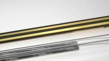 Быстро Золотой отражатель двойной трубки средневолновые инфракрасные нагревателя для просушки краски