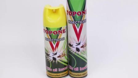 Topone 400ml pragas de pesticidas químicos OEM Killer spray insecticida