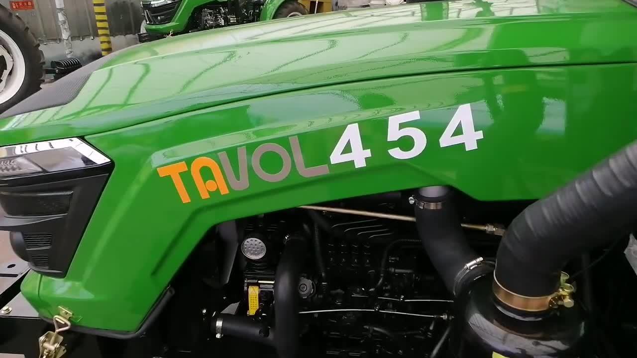ミニ 4 輪駆動トラクタマシン農業用ファーム装置 Tl454 安い価格で