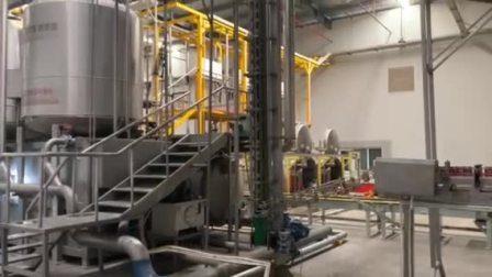 Continu sterilisatiesysteem DTS verticale krateloze retortsterilisator voor groot Productie-productielijn in blik