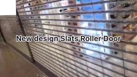 Rouleau de Claire en polycarbonate transparent motorisé de porte d'obturation