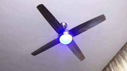 52-дюймовый национальных декоративных потолочный вентилятор с лампой