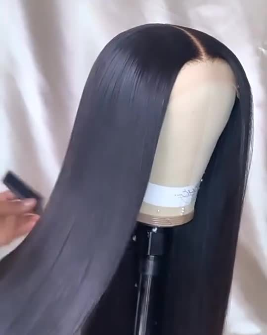 Brasilianische Lange Länge Reine Weiche Gerade Virgin Human Hair
