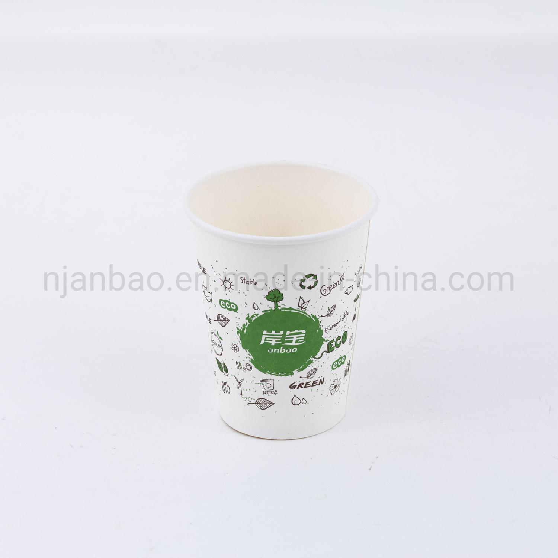 Beker met PLA-coating voor eenmalig gebruik, rimpelkoffie
