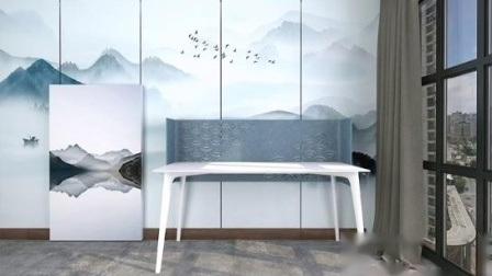 Home Office Möbel PET akustischen Bildschirm für Trennwand