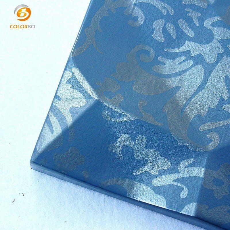 Schöne Oberfläche Muster Geprägte Polyester-Faser Akustikpanel