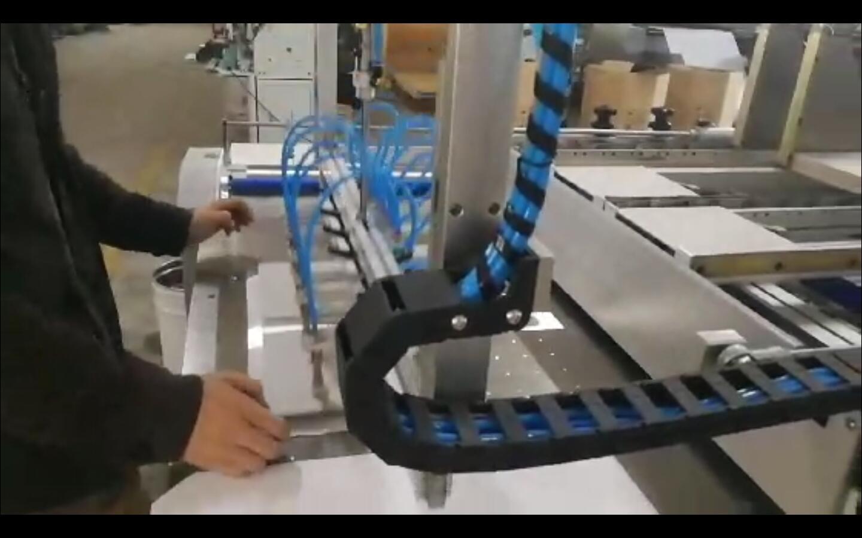 ماكينة علبة قلفة ورق شبه أوتوماتيكية ذات جودة عالية