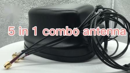 1本のGPS WiFi MIMO Lte MIMOの外部コンボのアンテナに付き5本