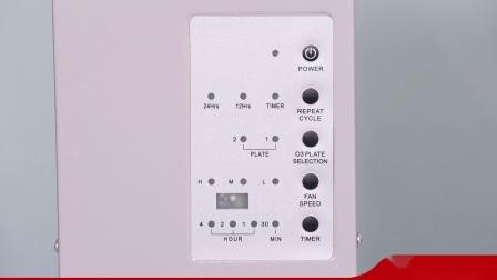 Beweglicher Ozon-Generator-Maschinen-Raum-Sterilisator-Ozonisator-Haushalts-Fernsteuerungsreinigungsapparat