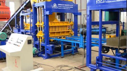Entièrement automatique Finisseur de béton caler la machine machine à briques