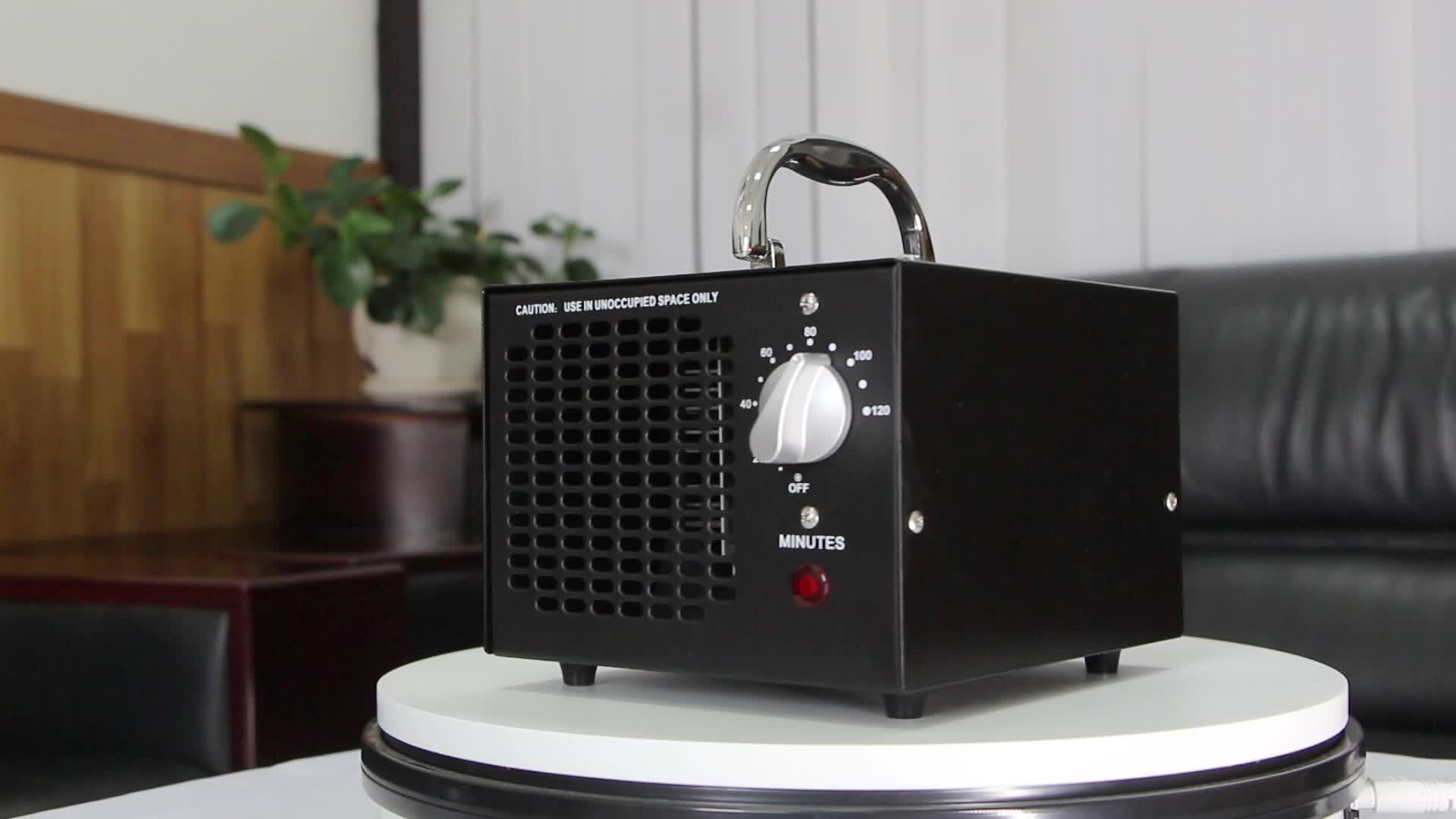 최고의 셀러 스마트 홈 장치 공기 청정기 휴대용 오존 발생기