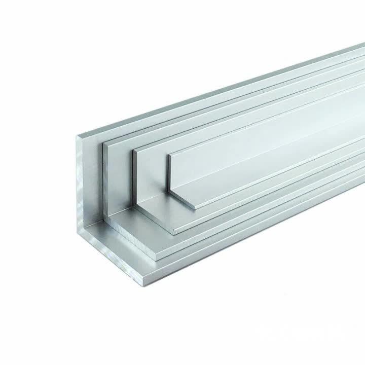 L'alluminio della Cina 6061-T6 si è sporto prezzo strutturale di profili di L-Angolo