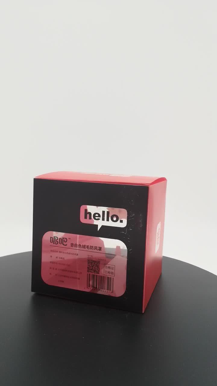 Acetaat Box Full Colour Printing Maatwerk Producten milieuvriendelijk Plastic verpakking