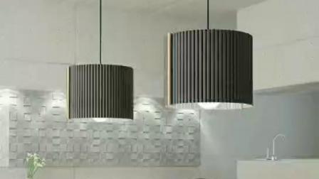 Office Dekorativer Korb Lampenschirm