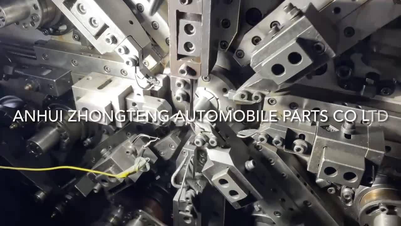 Aangepaste totaalveer voor automatische luchtgeleider