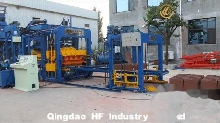 Qt10-15 ciment hydraulique automatique bloc Cabro chaussée Maker machine à fabriquer des briques en Afrique automatique