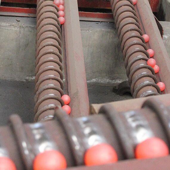 Stalen malende ballen voor mijnbouw