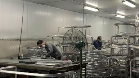 포산 공장 야외 플라워 가든 플라터 고급
