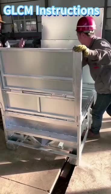 1000 litros plegable de acero galvanizado contenedor IBC / contenedor a granel