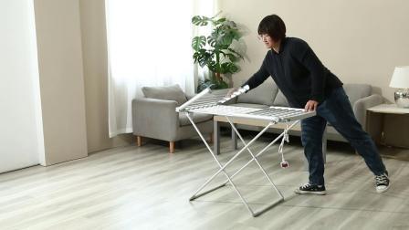 Nuovo modello per asciugatore elettrico a due piani con griglia per asciugare i panni riscaldato
