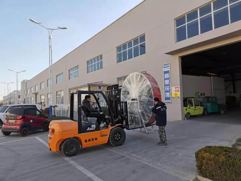VOC 촉매 연소 배기 가스 처리 장비 자동차 스프레이 페인트 공기 정화