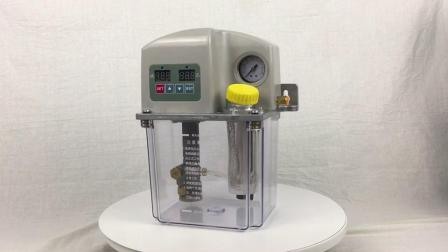 216ml/min a bomba de lubrificação eléctrico linha único Sistema Central de Lubrificação da Bomba de Óleo de Lubrificação da Corrente do Transportador
