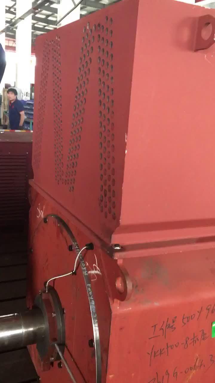 Ykk Serien-Dreiphasengroßer elektrischer/Electrical/AC/DC asynchroner des Motor600kw Luft-Luft abkühlender Hochspannungskurzschlußtyp 6kv IP55 Schutz-Kategorie