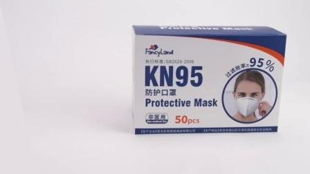 De witte Fabrikant van de Lijst 5 van het Goedgekeurde Lagen Masker van het Gezicht KN95