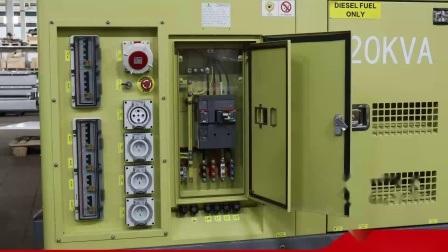 220kVA Cumins 방음 디젤 엔진 발전기 대기 Mc220d5 Cumins 발전기