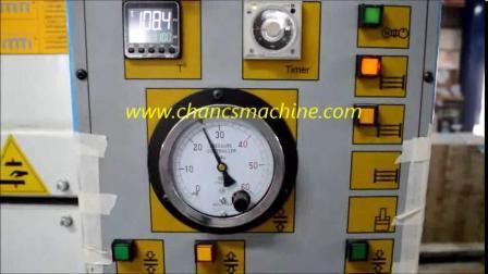 Máquina de pressão a quente com aquecimento eléctrico