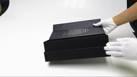 El lujo de cartón rígido personalizadas de alta calidad del vino botella individual Embalaje