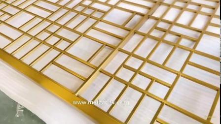 Современные дома 304 316 золотых наружного зеркала заднего вида декоративных из нержавеющей стали зал делитель