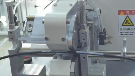 Zcut-660 Automatische Beschriftung Stricker rotierende Beschriftung auf Kabelmaschine
