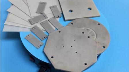Custom высокой температуры охлаждения электропроводности Айн алюминиевая пластина Nitride