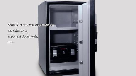 Guarda 3175SD-Bd Waterproof Caja Fuerte ignífuga código digital con almohadilla de bloqueo, UL72-350 120 minutos, proteger los documentos y medios de comunicación