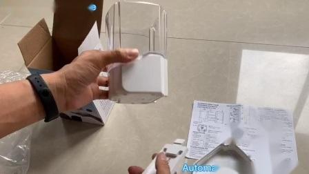 De automatische Opgezette Muur van de Capaciteit van de Automaat 700ml van het Desinfecterende middel van de Hand van de Sensor van de Automaat van de Zeep Infrarode ultra-Grote