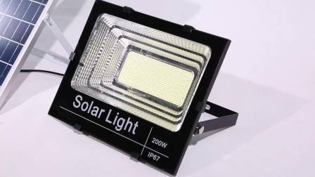 50With100With150With200With300W im Freien der Beleuchtung-LED Flut-StraßenlaterneWand-Lampen-Solardes licht-LED mit Wand-Licht des PIR Bewegungs-Fühler-IP65 mit Sonnenkollektor