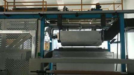 Paño Nonwoven Fabric materiales de filtrado de purificación de aire