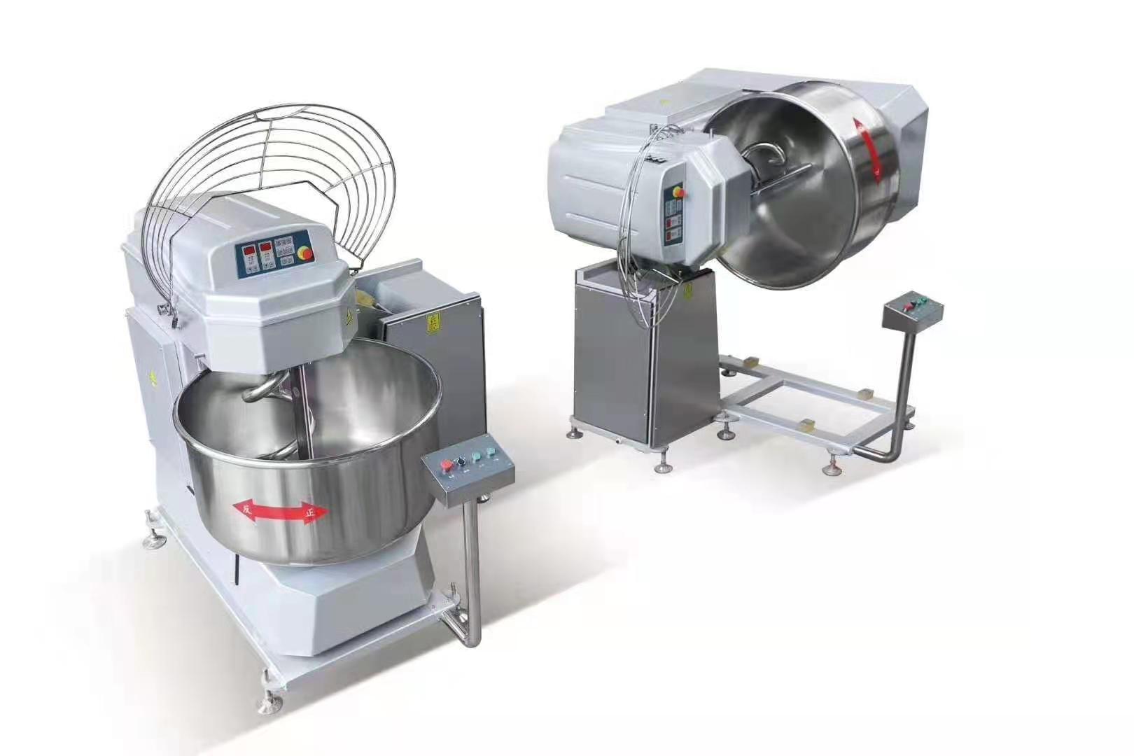 Automatische kantelende deeg Mixer / deeg Spiral Mixer commerciële Pizza deeg Mixer