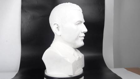 Resina branca pintada à mão estátuas humanas para decoração