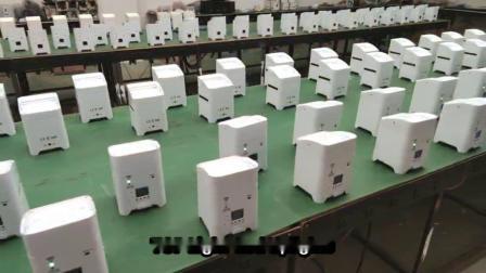 6W 12W ミニワイヤレスリモートコントロール入力丸型バッテリ LED アップライト 販売のため