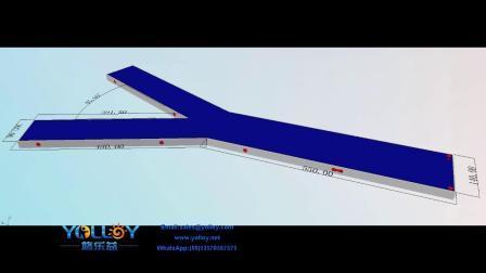 フローティングプラットフォーム膨張式ジェットスキーウォータードック、ヨット用