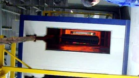 Gasheizung Ofen Emaille Vorbehandlungssystem