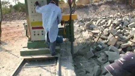 Máquina de corte da Pedreira de arenito tijolo com Movimento Vertical e Horizontal