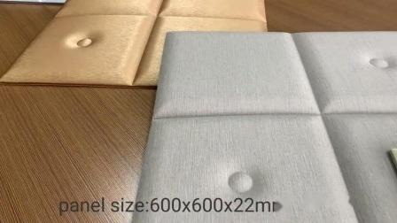 Foam Tiles 3D Wallpaper Wandbekleding zacht lederen wandpaneel