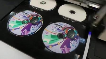 Wer-China hochwertiger Multifunktions-A3 UV Flachbett-Drucker für CD, Karte, Stift, Golfball