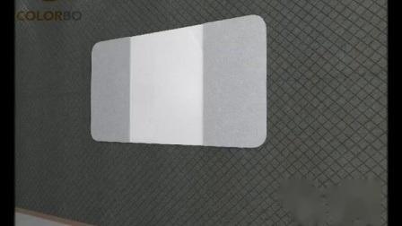Neu Polyester-Faser Material aus Umweltschutz zu speichern Leertaste für das Metop des Tabletts