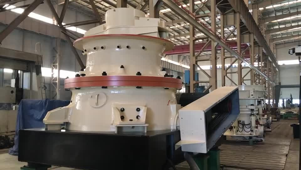Frantumatore a cono idraulico serie GP per la produzione di inerti